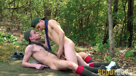 Ian Levine and Austin L Young - Buddy Check - Scouts Dinner Duty