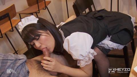 Orgasmic Menu at a Maids Cafe