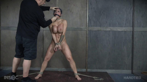 Crazy Bondage For Huge Tits Alyssa Lynn