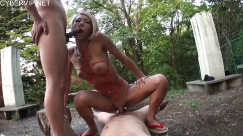 Asian Transsexual Gangbang