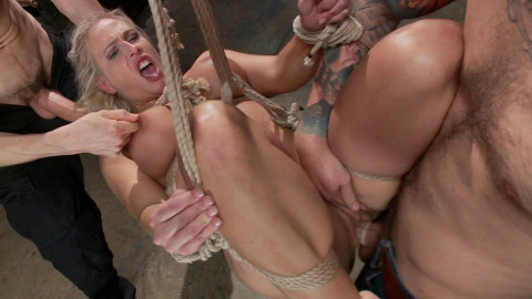 Big Tit MILF gets Double Penetrated - Only Pain HD