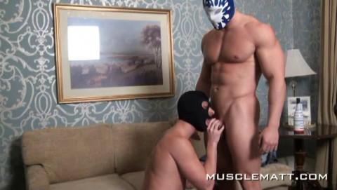 MuscleMatt - Kyle Tears Jason Up, Bruise, Use, Bong and Bang!