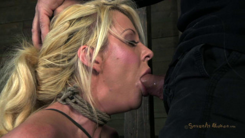 SB - Courtney Taylor, bound, manhandled, used, fucked - HD