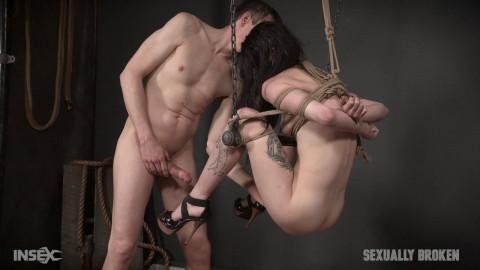 Lydia Black is a human sex swing!