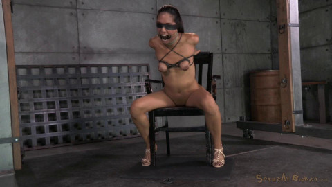 Bound In Strict Strappado (24 Sep 2014) Sexually Broken