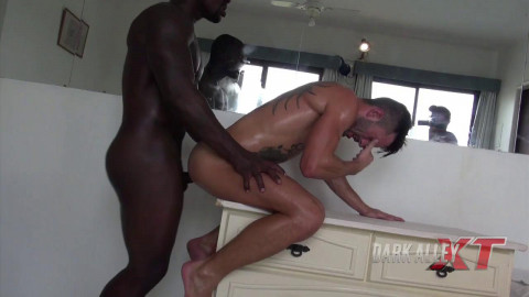 Big black dick ripping ass handsome