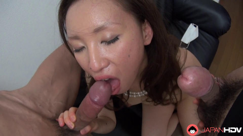 Tukasa Motohashi and 2 old college allies in a 3some