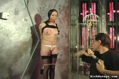 RickSavage - Pin Cushion Tits : Madison