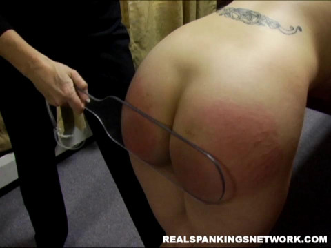 Claire Stripped And Paddled