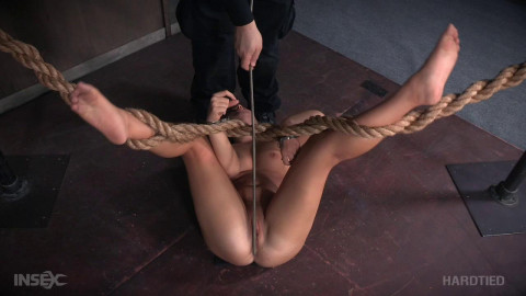 Hard Bondage For Teen Babe