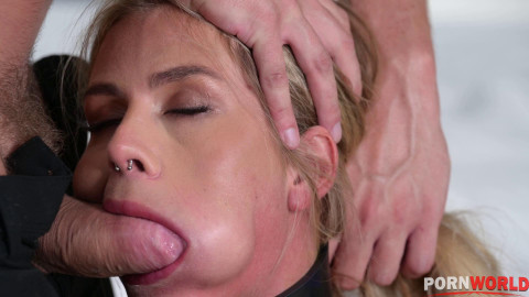 Severe POWER EXCHANGE Punishment Sees Zlata Shine Whipped, Bound, Choked, and Stretched Out