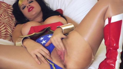 AnastasiaPierce - Wonder Woman Blackmailed in Vegas