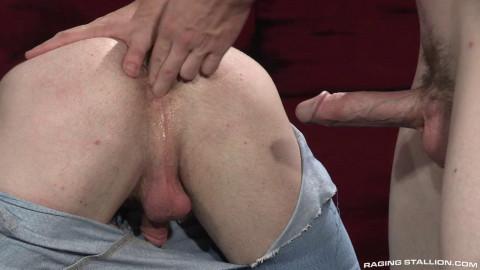 Sweaty anal boys