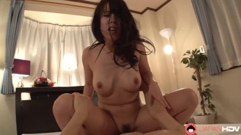 Ami Kasai - Ami Kasai and her paramour take some time for some orall-service sex and titty fucking