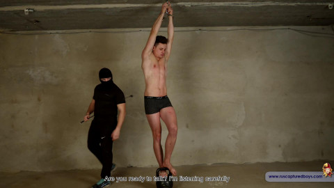 RusCapturedBoys - Escaped Convict Ilya - Part II