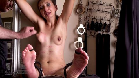 Jasmins Punishment - Soles Passing Through Hell Part 3