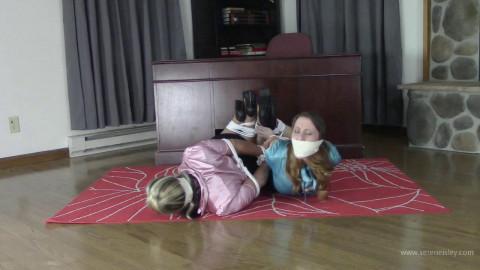 Serene Isley & Adara Jordin - Co-erced to Bind and Gag her Roommate