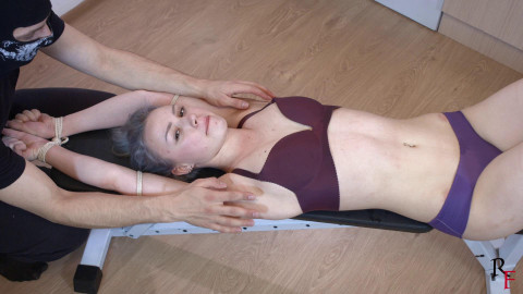 Bdsm Most Popular Upper body tickling for cute Astrid