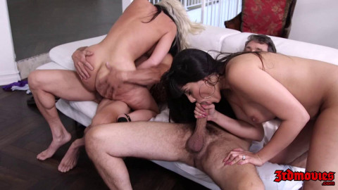 Alena Croft, Mercedes Carrera, Krissy Lynn - Wife Swap Orgy