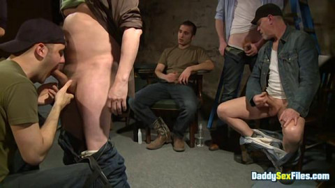 DaddySexFiles - Basement Cum Engulfing Pigs - Part FIRST