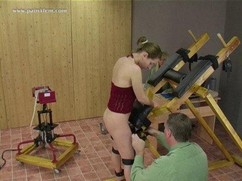 The spanking machine