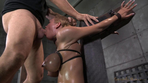 Sybian By Two Big Dicks (1 Oct 2014) Sexually Broken
