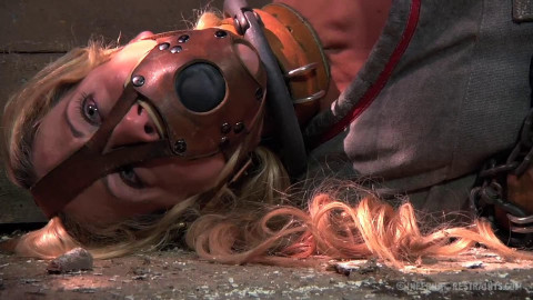 Restraint bondage, strappado, spanking and torment for doxy part FIRST HD 1080p