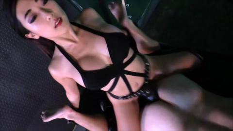 Luna Li - Fucks Her FIRST Slave Ass!