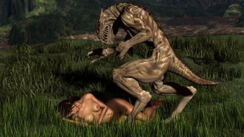 Slide XXX- 3D Alien Porn Collection
