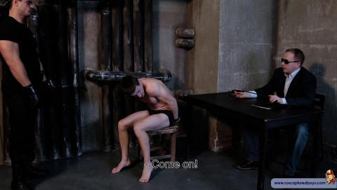 RusCapturedBoys - Interrogation of the Hooligan - Part II