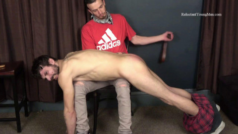 Spanked Hard by a Straight Buddy