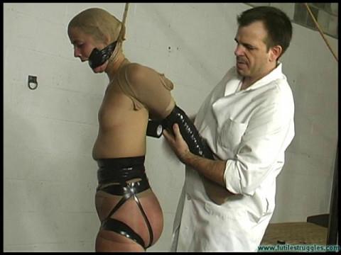 Panty Hose and black tape Encasement - Part 1