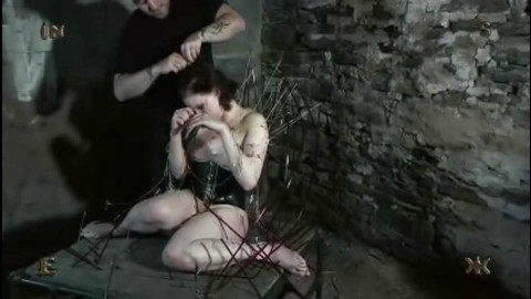 Extreme - Young Slave Tortures by Sharp Needles