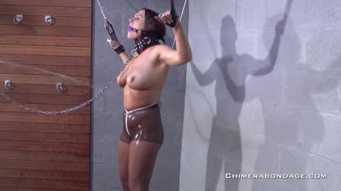 Chimerabondage Taking pictures in bondage - Candie