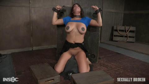 SexuallyBroken - Sexy Girl Next Door has her first Bondage...