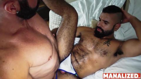 Carlos Alexander & Junito Alexander - Latino Musclefuck