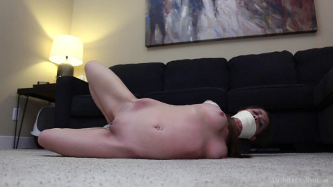 Captive Chrissy Marie - Chicken Wing Hogtied Captive 1080p