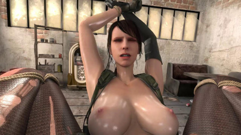 Breaking The Quiet - Quiet From Metal Gear Gets Destroyed By a  - HD 720p