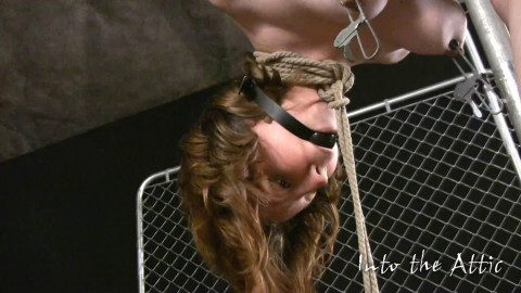 Hard tying, suspension and suffering for very hot wench part2 HD 1080p