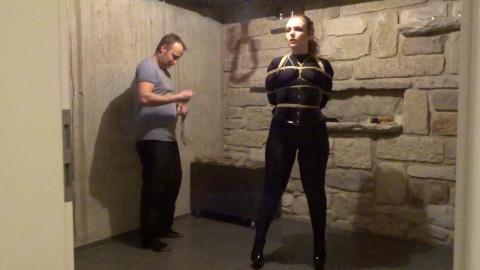 Little Sexy Diamondly Loves Sasoris Tight Ropes - Scene 1 - HD 720p