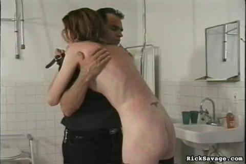 Rick Savage - Savage Caning Lucy