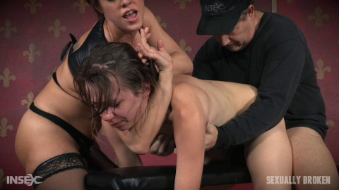 Zoey Laine - Zoey Laine Bound to Bench and Fucked Until Mindless and Drooling! (2016)