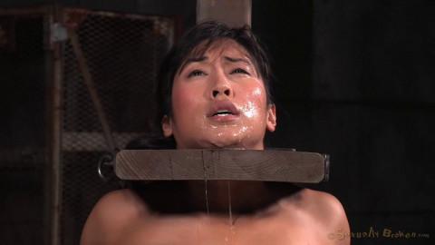 Mia Li - Busty Asian Shackled To Sybian