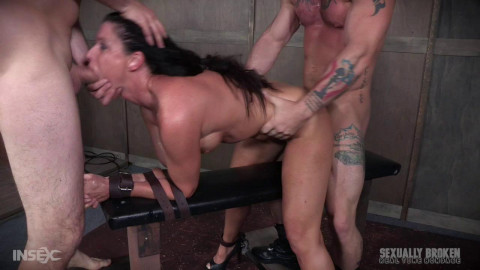 Sexuallybroken - Jun 05, 2017 - India Summers Recorded Live feed from May - Brutal bondage