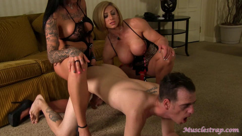 Rapture and Austin Strap-On The Slave - Scene 2 - Full HD 1080p