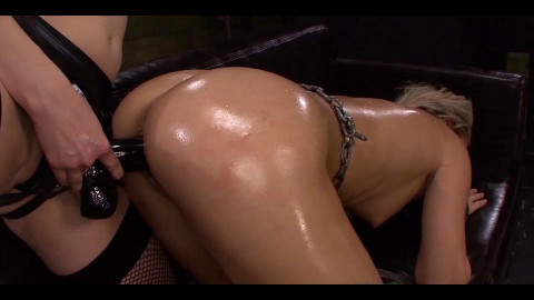 Leather Fastened Dykes From Hell Scene THREE