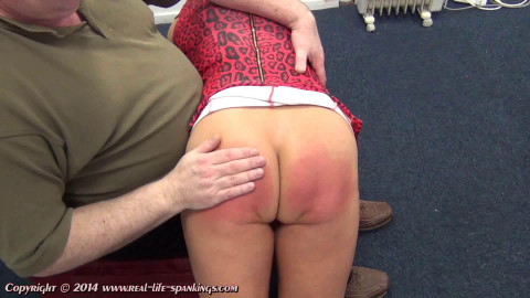 Real life spankings - Esthers first spanking