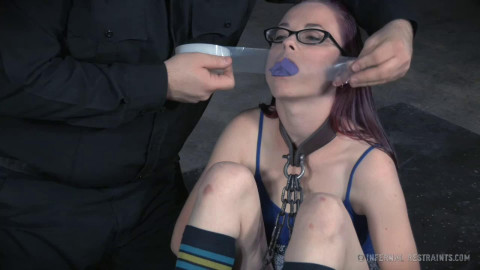 Hard tying, spanking and ache for concupiscent slavegirl part 1