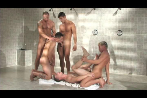 Amazing orgy for supple asses