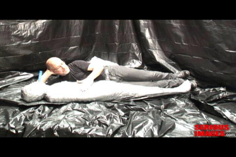 Medical Toys Mummification Fetish Fun With Plastic And Duct Tape